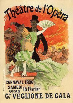Cheret, Jules - Grand Veglione de Gala, a l´Opera - Jules Chéret - Wikipedia, the free encyclopedia
