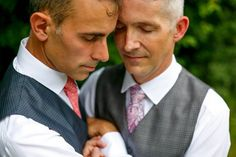Tender wedding day moment captured by JOS Studios