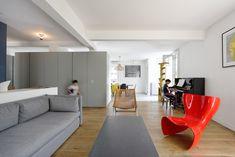 Un open space per cinque