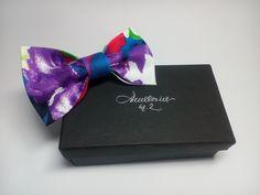 Men's bow tie Violet floral bowtie Wedding tie Violet comhionannas vótaí Bow Floral Violet noeud papillon avec des fleurs Violeta pajarita by accessories482 on Etsy