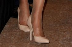 Kate's champagne heels