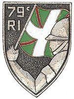 79e régiment d'infanterie est une unité de l'armée de terre française.