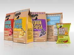 Packaging Design:Que Pasa Mexican Foods - Flink Creative