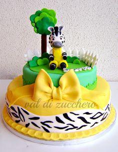 Zou cake Zebra Birthday Cakes, 1st Boy Birthday, Birthday Parties, Zebra Cakes, Animal Cakes, Cakes For Boys, Baby Kind, Cake Tutorial, Amazing Cakes