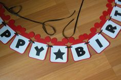 Mickey Mouse Banner Custom Mickey Mouse by ReginesPartyBoutique