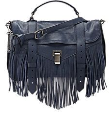 Proenza Schouler Fringed PS1 Medium Shoulder Bag
