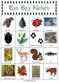 Eye Spy Nature Scavenger Hunt - 15 Cool and Fun Camping Activities for Kids Camping Activities For Kids, Camping With Kids, Games For Kids, Children Activities, Family Activities, Art Therapy Activities, Craft Activities, Activity Ideas, Craft Ideas