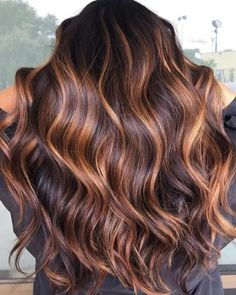 Fall Hair Color For Brunettes, Fall Hair Colors, Brown Hair Colors, Color For Hair, Hair Ideas For Brunettes, Tiger Eye Hair Color, Different Hair Colors, Brown Hair Balayage, Hair Color Balayage