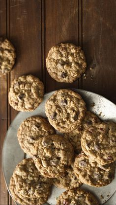 Fill your cookie jar with a healthier option than regular chocolate chip cookies. This recipe's made with three whole-grain cereals. Cheerios Recipes, Cheerios Cereal, Great Grains, Whole Grain Cereals, Fire Pits, Healthy Options, Recipe Using, Chocolate Chip Cookies, Brown Sugar