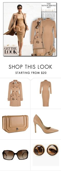 """""""#751 - One Color, Head to Toe"""" by lilmissmegan ❤ liked on Polyvore featuring Nicki Minaj, Burberry, River Island, Fendi, Chico's, GetTheLook, blogger, monochrome and blogstyle"""
