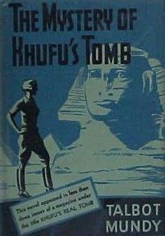 book cover of   The Mystery of Khufu's Tomb