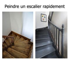 1000 ideas about peindre un escalier on pinterest wood staircase stairs and wood for Peindre un escalier bois vitrifie