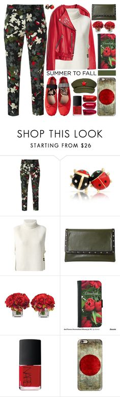 """""""Summer to Fall Layering"""" by barbarela11 ❤ liked on Polyvore featuring Dondup, Bling Jewelry, Étoile Isabel Marant, Dune, The French Bee, NARS Cosmetics and Casetify"""