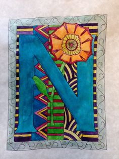 Illuminated Letters - A Space to Create