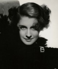 Spectacular 1934 Norma Shearer George Hurrell Art Deco Photograph Vintage Large