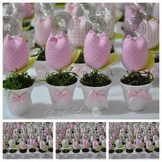 Dellicatess for Babies: Vasinhos com tulipa