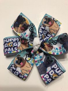 3 Inches Popular Demand Machine Washable Sesame Street Magic Hairbows