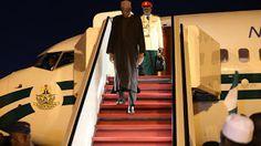 Queen Ifunanya's Blog: President Buhari arrives Marrakech for COP-22