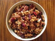 Cranberry Pecan Granola by Healthy Food For Living