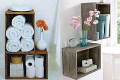 decoração com caixote - Pesquisa Google