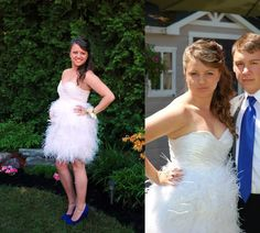 Victoria wearing handmade silk gathers and white ostrich feathers to her prom. Made at The Make Den. The Make, How To Make, How To Wear, Ostrich Feathers, Student Work, Victoria, Prom, Silk, Formal Dresses