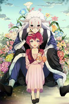 Shin-ah & Yona | Akatsuki no Yona #anime