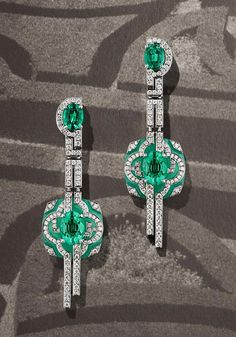 New fine jewelry from Lorenz Baumer -- the creative director -- that takes inspiration from the Parisian streets that lead to the new Louis Vuitton workshop at Place Vendôme in Paris 6.  Tres cool.