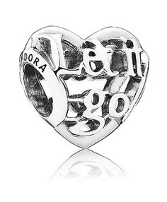Pandora Disney Frozen Let It Go Charm Cheap engraved let it go, which make me think of the song of a movie of disney!