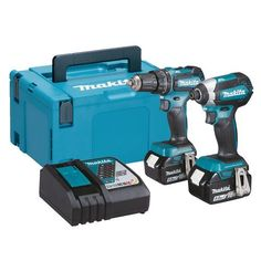 Makita DJV180Z 18V LXT Cordless Jigsaw with 2 x 4.0Ah Batteries Charger /& Case