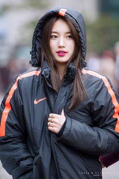 Suzy - outside KBS Music Bank