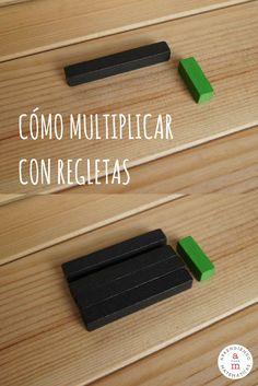 Aprende cómo enseñar la multiplicación con regletas.