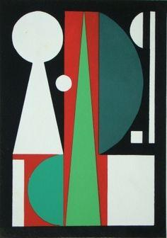 Pochoir - Auguste Herbin - Témoignages pour l'art abstrait