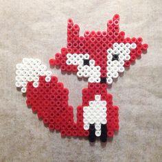 Fox hama beads by eenam