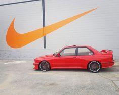 Owner:@m3ane30  #BMW #E30 #M3 #UltimateKlasse #CAtuned #bimmer #e30lifestyle #nike #ultimatedrivingmachine Bmw E30 M3, Garage, Nike, Instagram, Carport Garage, Garages, Car Garage, Carriage House