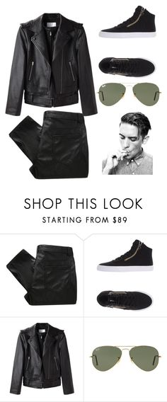 """""""G Eazy """" by fire-mars ❤ liked on Polyvore featuring MW Matthew Williamson, Supra, Alexander Wang, Ray-Ban, women's clothing, women, female, woman, misses and juniors"""