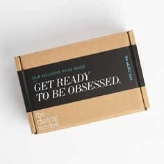 The Detox Box October 2017 Full Spoilers! See the full October spoilers for The Detox Market's new monthly beauty box - The Detox Box! Luxury Packaging, Brand Packaging, Packaging Ideas, Design Packaging, Custom Packaging Boxes, Gift Box Packaging, Cardboard Packaging, Box Branding, Cardboard Boxes