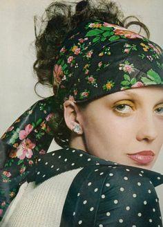 Fashion photography by Raymundo de Larrain, 1972.