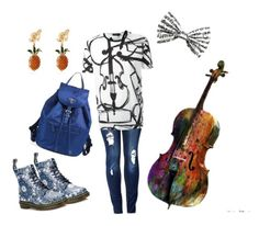 """I'm a musician"" by baileyem-1 on Polyvore featuring Dolce&Gabbana, Dr. Martens and Prada"