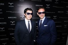 Timur Avsadzhanashvili (Babochka) & Guglielmo Miani (Larusmiani) in Larusmiani x ITALIA INDEPENDENT glasses