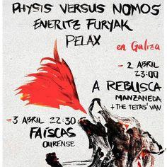 Eneritz Furiak + Pelax + Physis Versus Nomos en Faíscas, Ourense concerto concierto music música