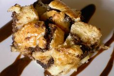 Nutella Bread Pudding. Photo by SkinnyMinnie