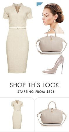 """244. Sets for homework. Classic style flexible line"" by sollis ❤ liked on Polyvore featuring MaxMara, Tory Burch, classic, neutrals and flexible"