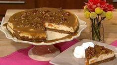 Chef Jamika's Sweet Potato Praline Cheesecake