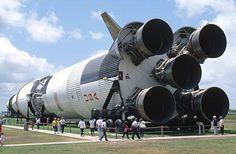 Von Braun consigue ver realizada su labor y será su Saturno V el vehículo que traslade al hombre a la Luna...