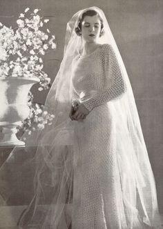 1930's Wedding Gown
