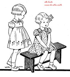 femmes-en-1900: Petites Filles