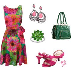 Bright Spring, created by violetfemme-71 on Polyvore