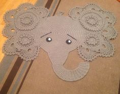 A personal favorite from my Etsy shop https://www.etsy.com/listing/466289346/ready-to-ship-elephant-rug