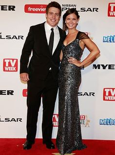 Stephen Peacocke and Bridgette Sneddon - One of Home And Away's most loved stars has a love of his own. Steve and Bridgette met at university back in 2005 and the couple got hitched in 2014.