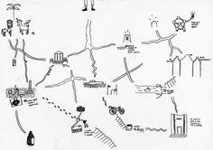 Atelier Urbains . serena-emilliani . mental map